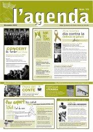 Novembre [113 - pdf 2,8 Mb] - Ajuntament de Santa Coloma de ...