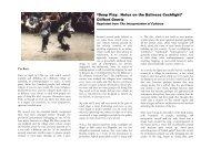 Geertz, 2005. Deep play: notes on the Balinese ... - Biolinguagem