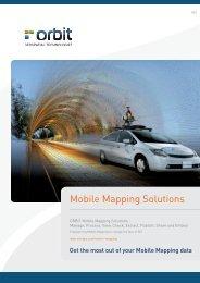 Fact Sheet - Orbit GeoSpatial Technologies