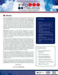 InfoTiquicia I-2012 - Dirección General de Migración y Extranjería