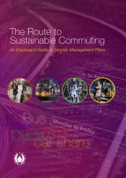 The Route to Sustainable commuting - the Sustainable Energy ...