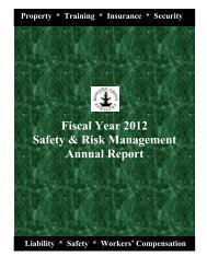 Risk Management Annual Report - City of Bowling Green, KY
