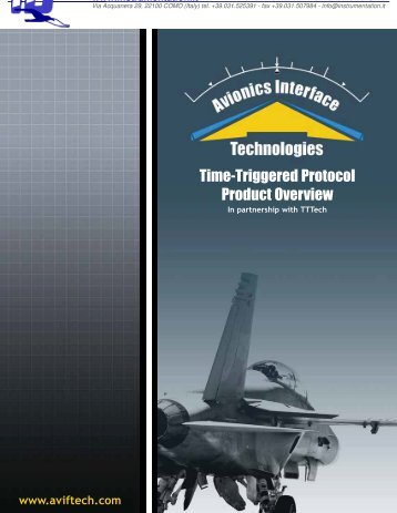 Time trigger protocol - Instrumentation Devices