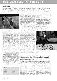 Velojournal 5/2011 - Pro Velo Kanton Bern