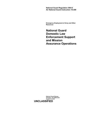 NGR 500-3 - NGB Publications and Forms Library - U.S. Army