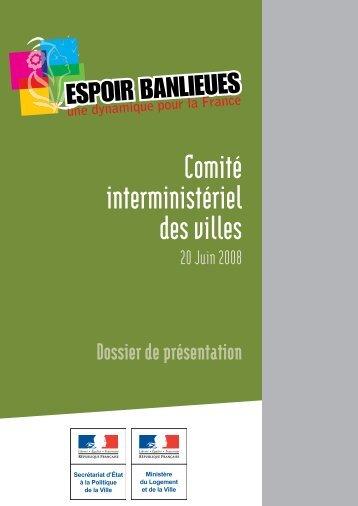 Dossier de presse CIV 20 juin 2008 - Délégation interministérielle à ...