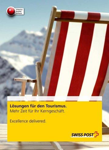 Lösungen für den Tourismus.