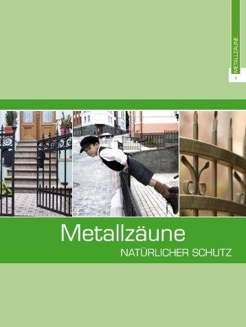 Metallzäune