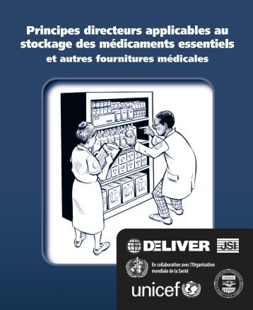 Principes directeurs applicables au stockage des médicaments ...
