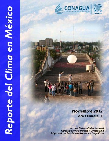 Noviembre - Servicio Meteorológico Nacional. México.