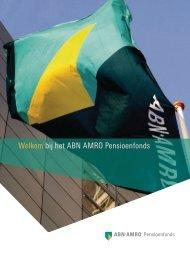 Welkom bij het ABN AMRO Pensioenfonds