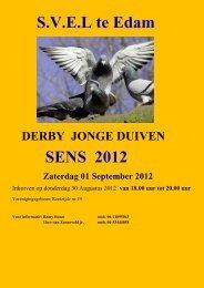 S.V.E.L te Edam SENS 2012 - Bert de Moor