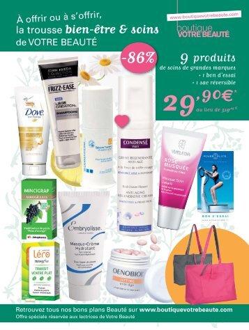 Trousse SoinsBienEtre.indd - Boutique Marie Claire