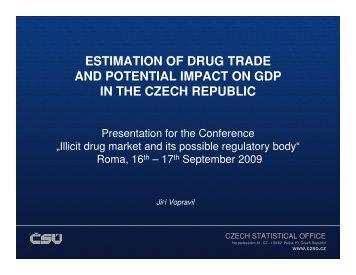 Jiri Vopravil - Illicit Drug Market