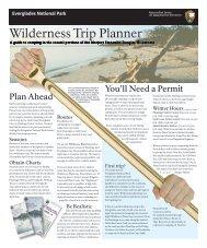 Wilderness Trip Planner - National Parks Traveler