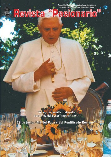 PORTADA JUN-JUL 2011 - Passio Christi