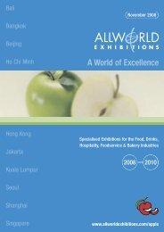 FHC Calendar 2009-10.indd - Allworld Exhibitions