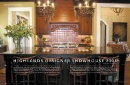 Highlands Designer Showhouse 2008 - Views Magazine Website