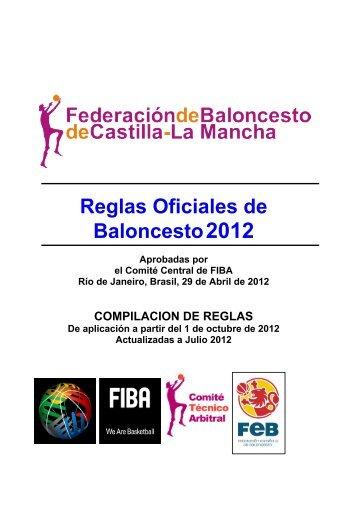 Reglas Oficiales de Baloncesto 2012