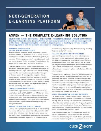 NEXT-GENERATION E-LEARNING PLATFORM