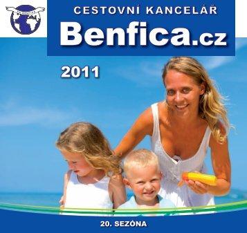 20. sezóna - BENFICA - cestovní kancelář
