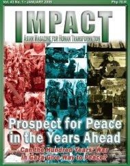 Php 70.00 Vol. 43 No. 1 • JANUARY 2009 - IMPACT Magazine Online!