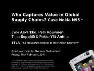 Nokia N95 - The Graduate Institute, Geneva