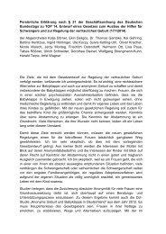 Persönliche Erklärung nach § 31 der ... - Kai Gehring