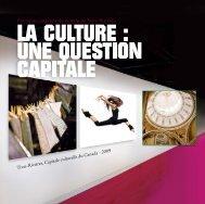 La culture : une question capitale - Ville de Trois-Rivières