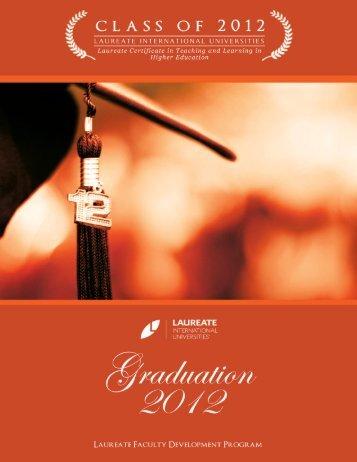 Graduation 2012 - My Laureate