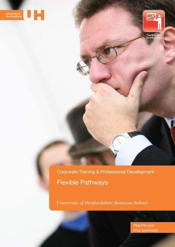 View the Flexible Pathways brochure (PDF - 0.65 Mb) - University of ...