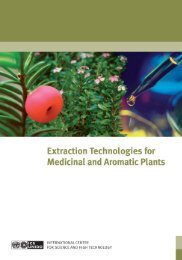 Extraction Technologies for Medicinal and Aromatic ... - Capacity4Dev