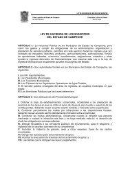 ley de hacienda de los municipios del estado de campeche