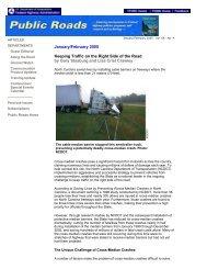 Public Roads Article - January-February 2005 - AASHTO ...