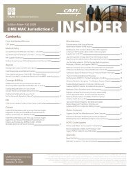 dme mac jurisdiction c forms