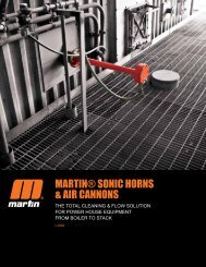 Martin Engineering | Sonic Horns & Air Cannons ... - HAUL MASS