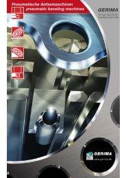 Pneumatische Anfasmaschinen pneumatic beveling machines ...
