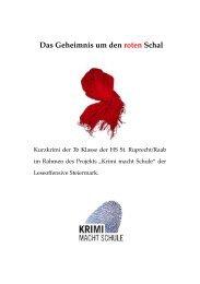 Das Geheimnis um den roten Schal - Leseoffensive Steiermark