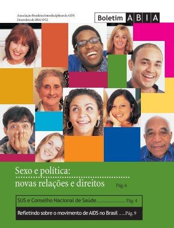Sexo e política: novas relações e direitos - Abia