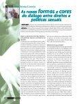 Sexo e política: novas relações e direitos - Abia - Page 6