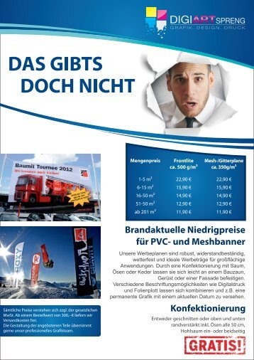 Angebot Banner & Flags