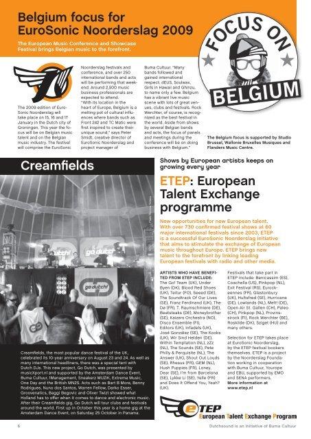 Dutch companies at Popkomm 2008 - Buma Cultuur