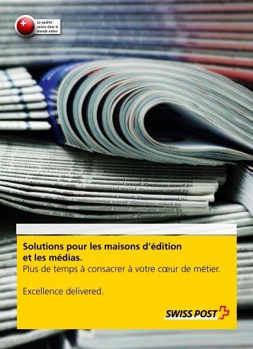 Solutions pour les maisons d'édition