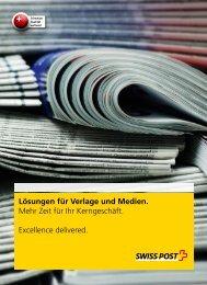 Lösungen für Verlage und Medien.
