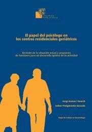 genentologia castella copia.pmd - Col·legi Oficial de Psicòlegs de ...