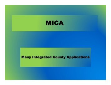 Many Integrated County Applications - Ottawa County