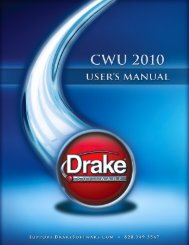 Table of Contents - Drake Software