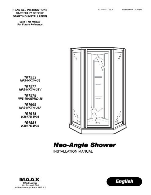 Neo Angle Shower Home Depot