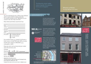 download an application form here - Ulster Architectural Heritage ...
