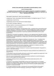 dyrektywa 2000/54/we parlamentu europejskiego i rady - GMO